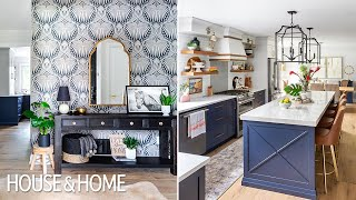 Watch A Modern Farmhouse Makeover With Holiday Sparkle