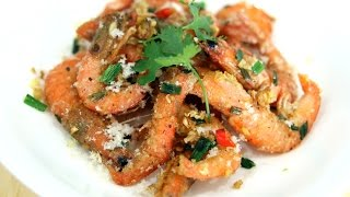 TÔM RANG MUỐI - SALT & PEPPER SHRIMPS