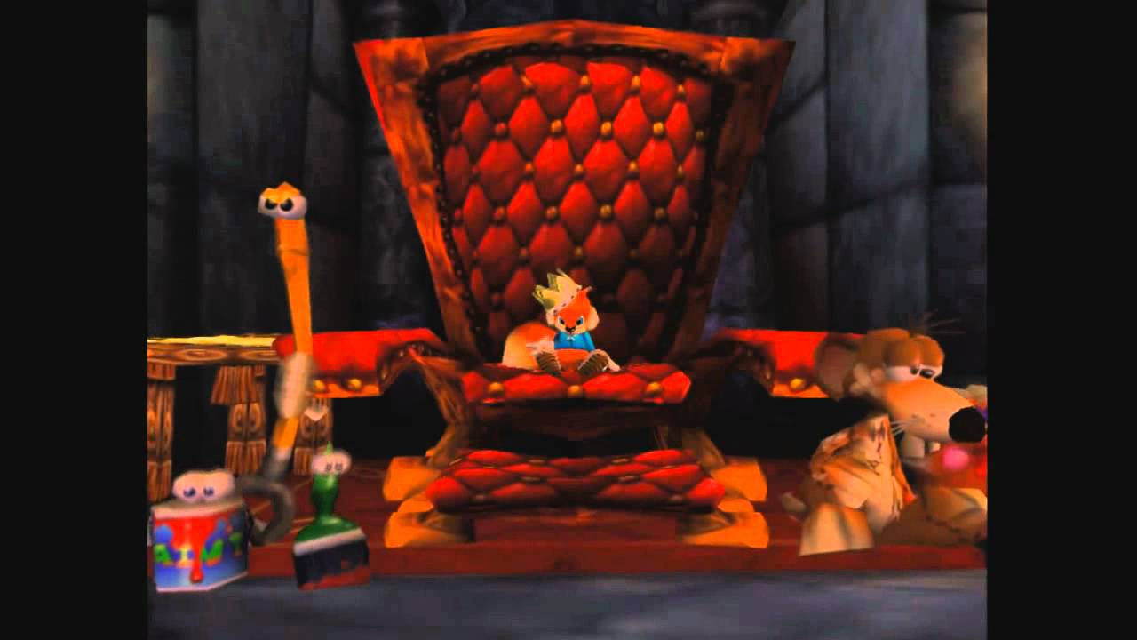 Conkers Bad Fur Day Ending YouTube