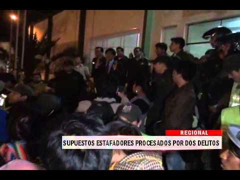 18/09/2014 - 13:30 SUPUESTOS ESTAFADORES PROCESADOS POR DOS DELITOS