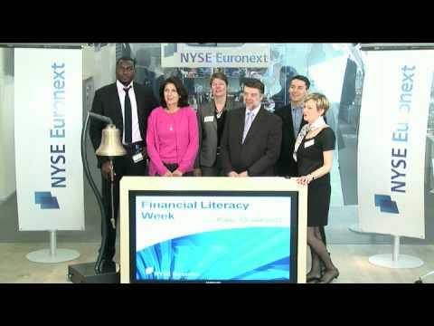 NYSE Euronext célèbre la semaine de l'Education financière à Paris