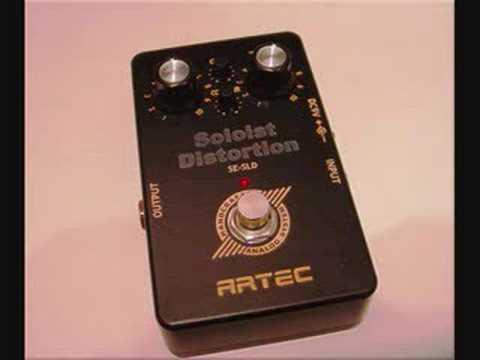 Artec Soloist Distortion Song Demo I