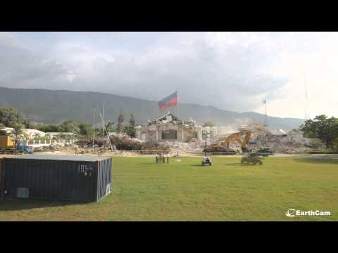Official Haiti Palace Demolition Time-Lapse