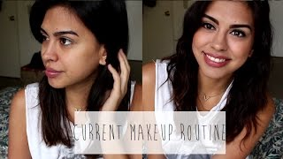 MY CURRENT MAKEUP ROUTINE | beautyzombiee