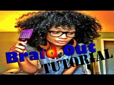 Wet Braid Out Tutorial