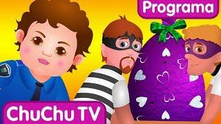 ChuChu TV Huevos Sorpresas de Policías – Episodio 02 - Regalos Sorpresa de Fábrica de Huevos