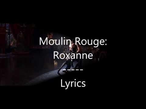 Moulin Rouge - El Tango De Roxanne - Lyrics on Screen