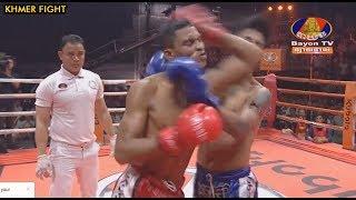 ចាន់ ប៊ុនហឿន ប៉ះ យុគផេត (ថៃ), Bayon Kun Khmer Boxing 07-06-2019