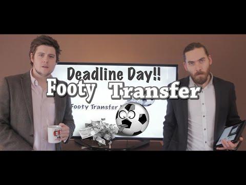 Football Transfer News - Deadline Day