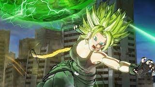 LEGENDARY POWER! Legendary Super Saiyan CaC Transformation!   Dragon Ball Xenoverse 2 Mods