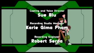 Cartoon Network Studios logo Ben 10 Omniverse variant, 2014 plus B10 O Ending Credits YouTube   YouT