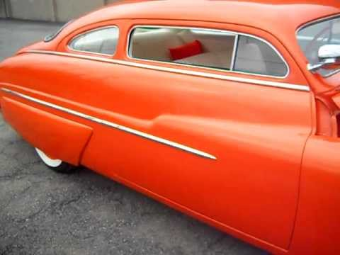 132117 1950 Mercury Custom Lead Sled *SOLD*