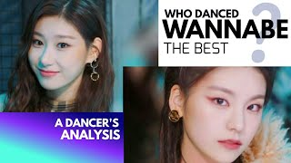 Who danced ITZY WANNABE the best? A Dancer's Analysis