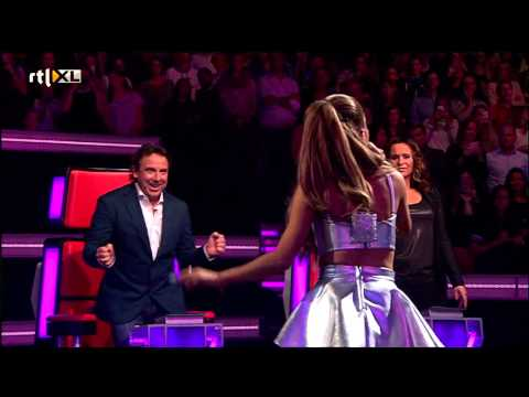 Ariana Grande - Break Free (The voice of Holland: Liveshow 1) [HD]