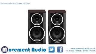 Wharfedale Diamond 121 2-Way Bookshelf/Standmount Loudspeakers available from Movement Audio