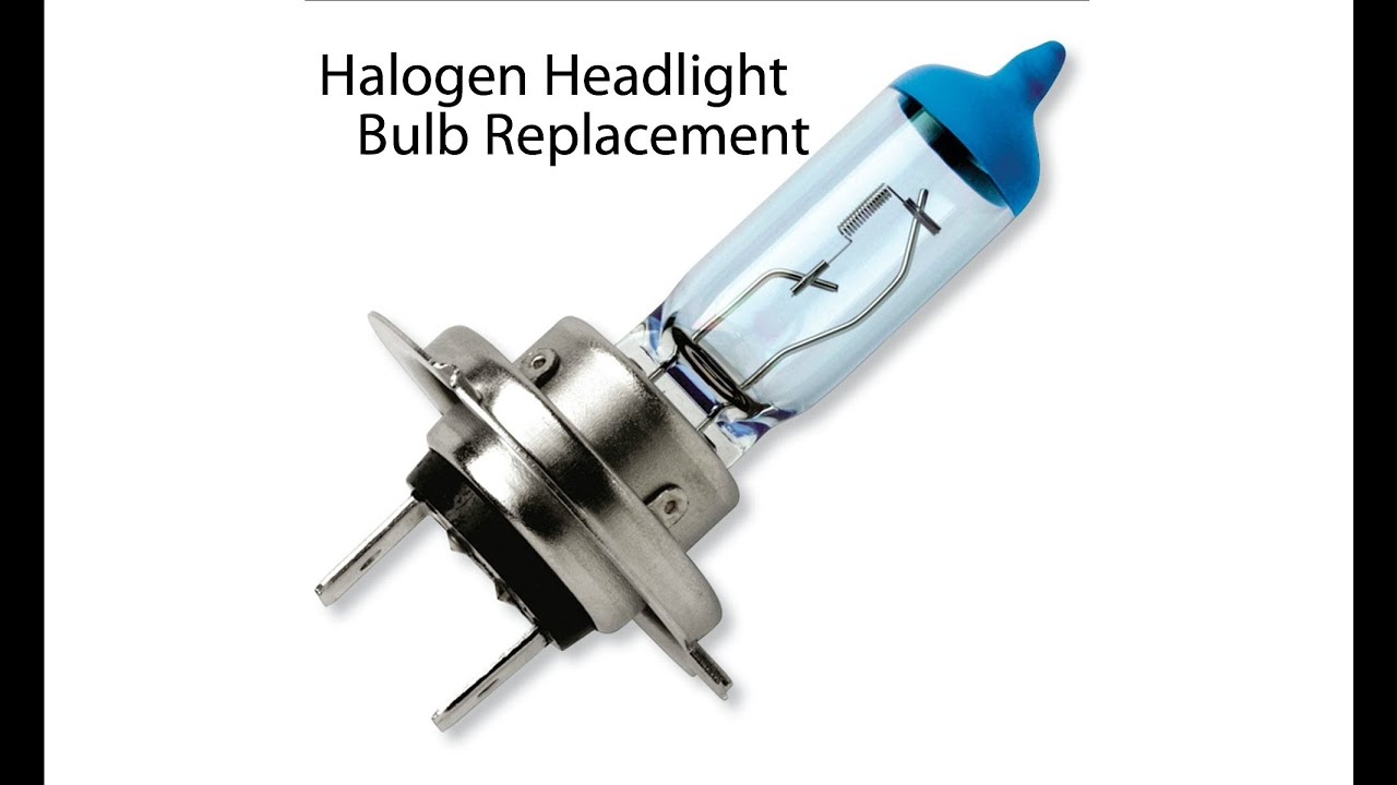 Halogen Headlight Bulb Replacement Youtube