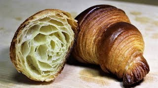 How to Make Croissants at home (Easy Recipe: No machine, No knead method's application)
