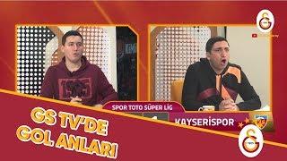 GSTV'de Gol Anları! #GSvKYS