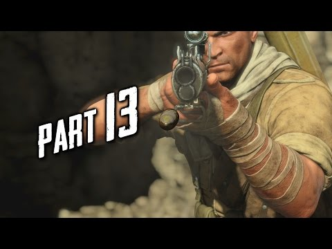 Sniper Elite 3 Gameplay Walkthrough Part 13 - Sound Mask (PS4)