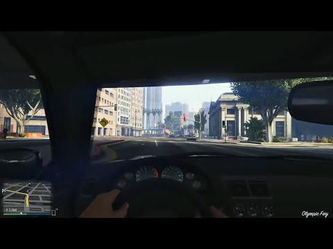 GTA V - Carro em Primeira Pessoa na Nova Geração