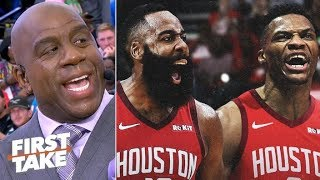Magic Johnson: The Clippers and Lakers are better than the Rockets | First Take
