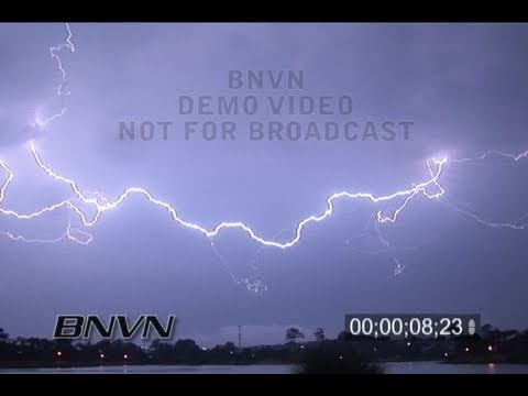 8/17/2007 Virginia Beach, VA Lightning Video