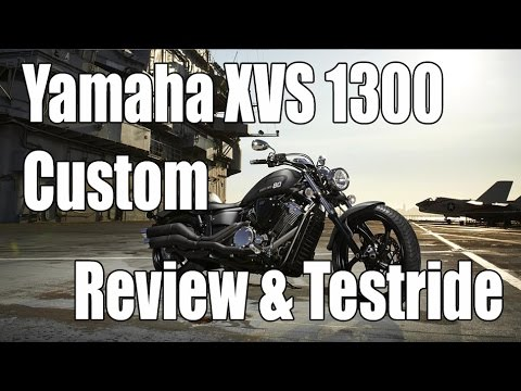 Yamaha XVS 1300 Custom / Stryker Review & Testride