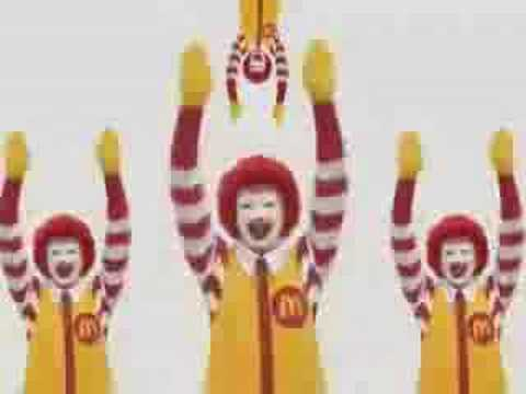 McDonalds Japan - psychotic