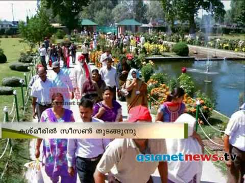Kashmir tourist season start : Thiruvananthapuram to Kashmir travel Uttarayanam Part 1