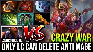 Only LC Who Can Defeat 6Slots Godlike Anti Mage | New Duel With Scepter Delete Cancer 27Kills Dota 2