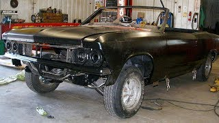 1966 Chevrolet Chevelle SS 396 Convertible Restoration Project