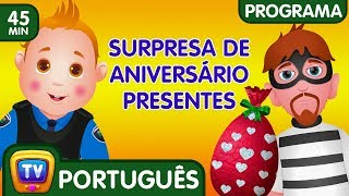 ChuChu TV Ovos Surpresa da Polícia (Coleção) - Episódio 01 – Presentes de surpresa de aniversário