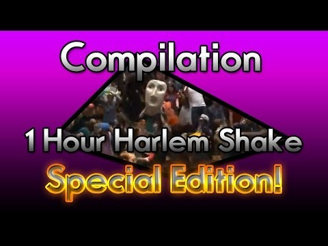 Compilation 1 Hour Harlem Shake - Special Edition!
