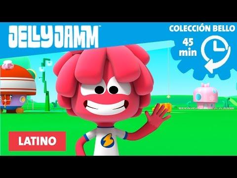 Jelly Jamm Latino. Colección Bello (45 minutos) Mejores episodios de Bello.