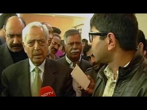 Pakistan flag at separatists' rally unacceptable, won't be tolerated: Mufti Sayeed to NDTV