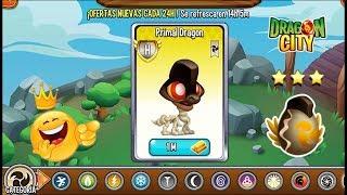 Dragon City: New PRIMAL DRAGON x 1 MILLION GOLD [EXCLUSIVE DRAGON]