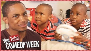 Spoken Reasons Babysits Zay Zay and Jojo AGAIN! YouTube Comedy Week