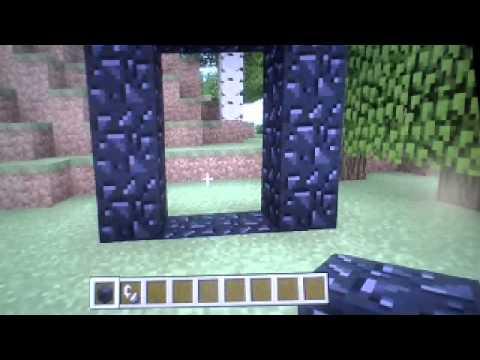Minecraft Xbox 360 como hacer un portal al infierno