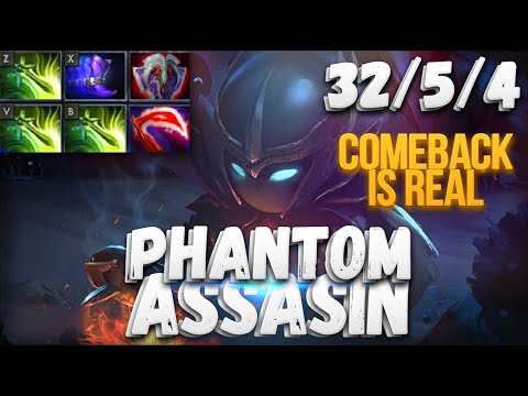 Comeback is REAL! | ТРИ БАБОЧКИ НА ФАНТОМКЕ | Dota 2 Phantom Assasin 6.87
