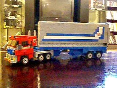 OPTIMUS PRIME (Ver 3.1). a Lego Transformers Creation