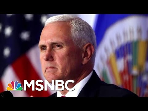Mike Pence Makes Moves, And Some In GOP Arent Happy  Morning Joe  MSNBC