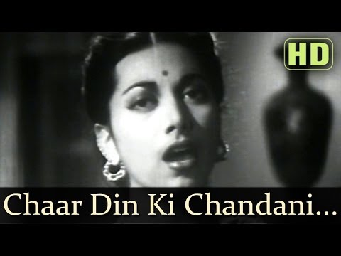 Chaar Din Ki Chandni Thi (HD) - Dillagi 1949 Songs - Shyam Kumar...