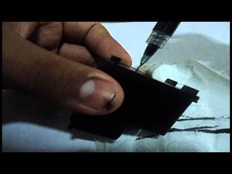 Como recargar cartucho Hp 662 negro - Español