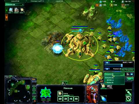 How to beat Protoss Master as Terran with no skill