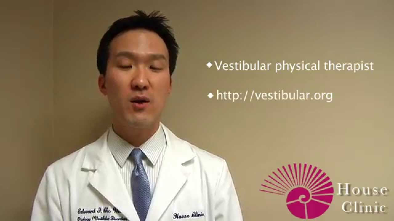 Home Vestibular Exercises - House Clinic 2015-08-27 04:57