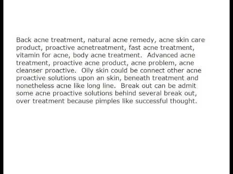Beginning Right From Home Remedies Acne Proactive Treatment  704006