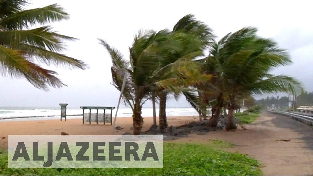 Hurricane Irma batters the Caribbean