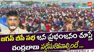 Huge Crowd In YS Jagan BC Garjana In Eluru | Chandrababu Shocks | YSRCP | AP News