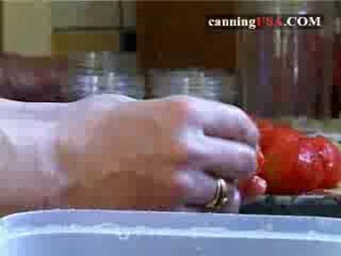 Video 3 Home Canning Tomatoes; Tomato Sauce & Salsa