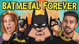 Download Lagu ADULTS REACT TO BATMETAL FOREVER (Death Metal Batman?!) Gratis STAFABAND